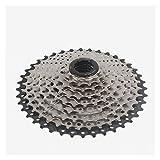 qazwsx Casete De 9 Velocidades Rueda De Inercia De Dientes Grandes para Bicicleta De Montaña De 27 Velocidades, Adecuado para Bicicletas De Montaña, Bicicletas De Carretera