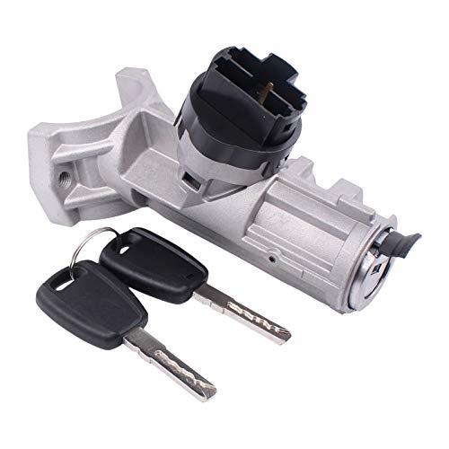 HouYeen Interruptor de bloqueo de barril de encendido con 2 llaves para relé Ducato Boxer