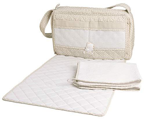Filet - Borsa Nursery con Asciugamano per Fasciatoio - Tortora