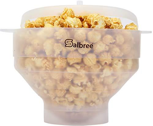 Salbree Popcorn-Popper, in 15 Farben erhältlich, die gesunde Alternative zu Popcorn in Beutel Casual durchsichtig