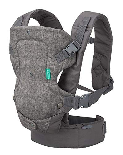 JINSUO DXXLD Baby Carrier Sling Portable Child Suspenders Backpack Thickening Shoulders 360 Ergonomic Hoodie Kangaroo Baby Carrier (Color : 668 Grey, Size : OneSize)
