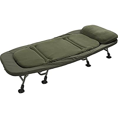 TF Gear Flat Out Super King Carp Fishing Bed 4 Leg