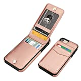 KIHUWEY iPhone 7 iPhone 8 iPhone SE 2020 Case Wallet with Credit...