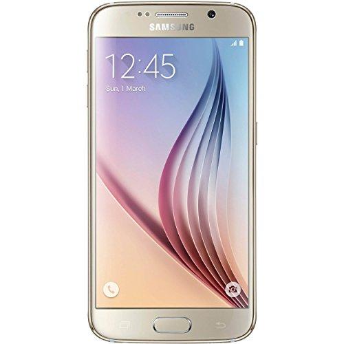 "Samsung Galaxy S6 Smartphone Movistar Libre de 5.1""(Cámara de 16MP,GPS,Wi-Fi,SMS, MMS, Email, Push Mail, IM, RSS) Oro"