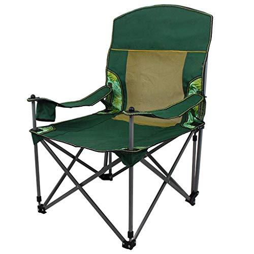 Zhaojyz Household multifunctionele stoel, halfrond, draagbaar, inklapbaar, voor bank, kantoor, stoel voor vissen, camping, grill