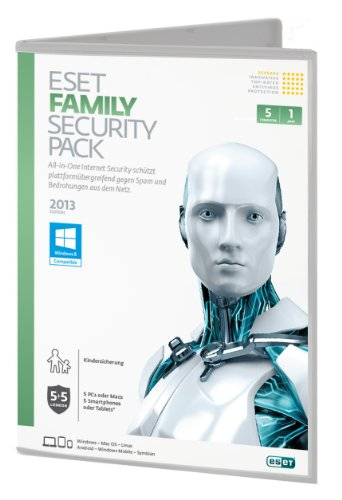 ESET Family Pack 6 ( 5PC , 1 Jahr) [import allemand]