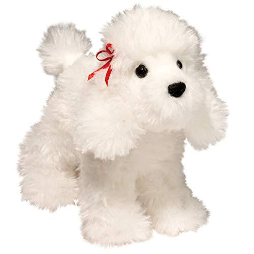 Douglas Gina White Poodle Dog Plush Stuffed Animal -  3983