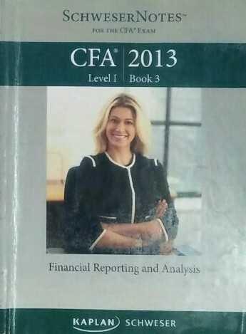 CFA level 1 schweser