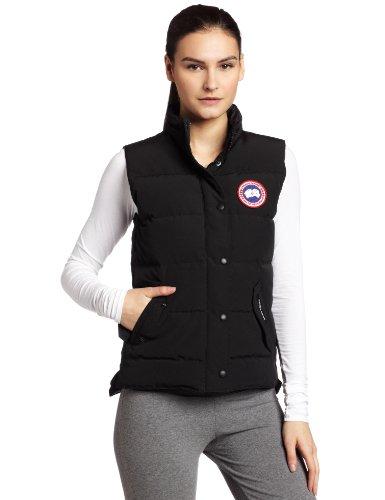 Big Sale Canada Goose Women's Freestyle Vest,Black,Small