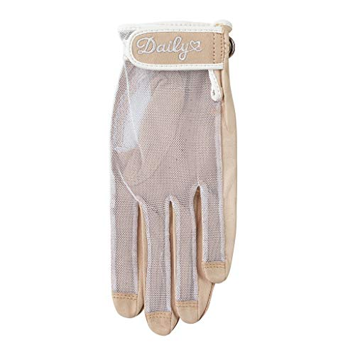 Daily Sports, Solar Golfhandschuh für Frauen, LH Straw Beig, Größe S.