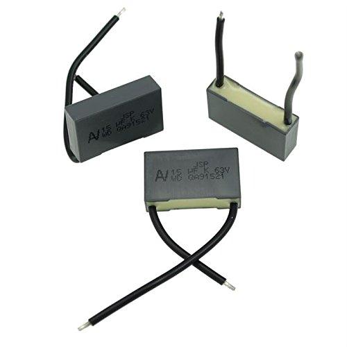 2x MKT-Condensateur rad. 15µF 63V DC ; 22,5mm ; JSPDN5150ZA00K ; 15uF
