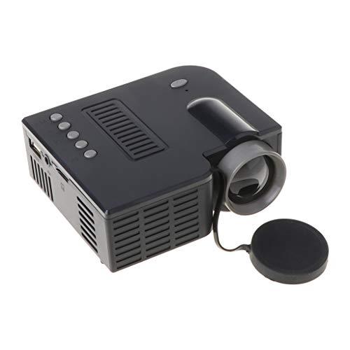 kdjsic UC28C Mini tragbarer Videoprojektor 16: 9 LCD-Projektor Media Player für...