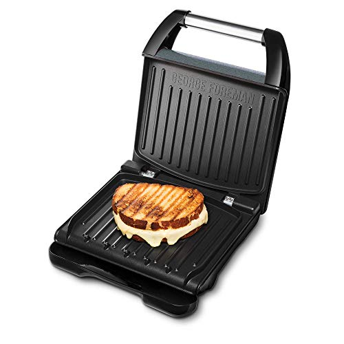 George Foreman 25041-56 Staal Family Contact Grill, 1650W, Rood