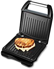 George Foreman fitnessgrill Entertaining Steel