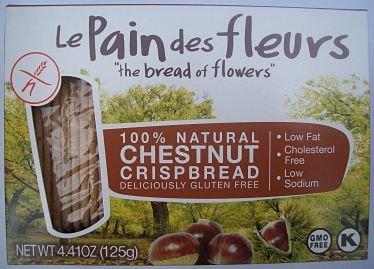 Le Pain NEW De Fleur shopping Gluten Free Pack of 4.4oz Crispbread Chestnut