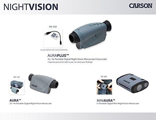 Carson MiniAura Digital Night Vision Monocular (NV-200)