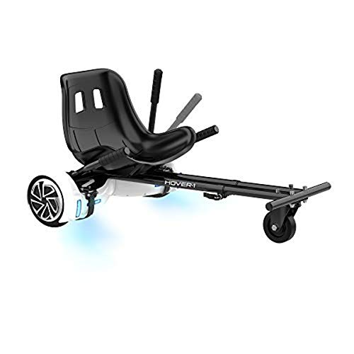 Hover-1 Buggy Attachment for Transforming Hoverboard Scooter into Go-Kart , Black,...