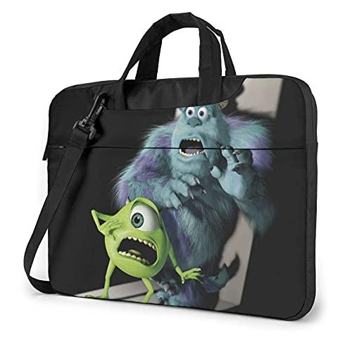 Monsters Laptop Bag 13 14 15.6 Inch Briefcase Shoulder Menger Bag Shoproof Carrying Case with Organizer for Men Women, Busin Travel