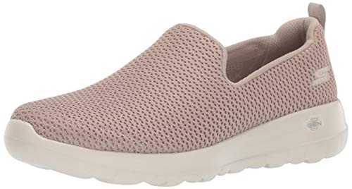 Skechers Womens Go Joy Walking Shoe, Taupe, 8 US