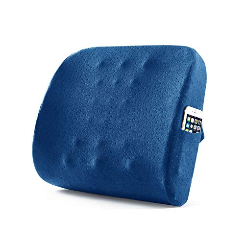 Car Seat Cushion Back Pain Support Seat Cushion Office Car Sitting Pregnancy Travel Driving Seat Cushion Seat Cushion Comfort Memory Foam Orthopedic Chair Pillow Suitable for Driver's Office Staff