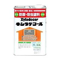 大阪ガスケミカル株式会社 キシラデコール シルバグレイ 3.4L