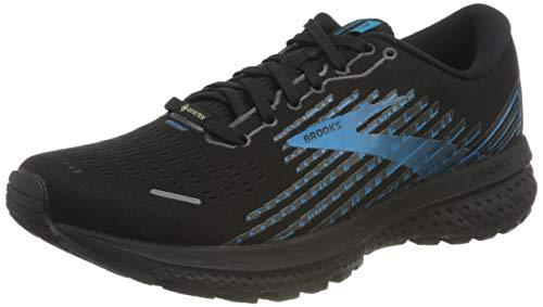 Brooks Herren Ghost 13 GTX Laufschuh, Black Grey Blue, 42 EU