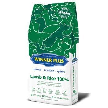 WINNER PLUS Lamb & Rice 100% 3 kg - Mono proteina da carne di agnello per cani esigenti