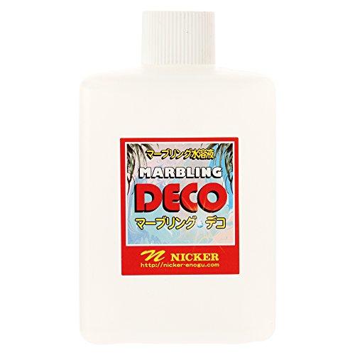 ニッカー 画溶液 マーブリング・デコ マーブリング水溶液 300ml