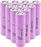 Batería De Iones De Litio 3 7v 3500mah 18650 Inr18650-35eCapaz De Cargar La Antorcha 10Pieces