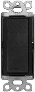 Lutron Claro On/Off Switch, 15-Amp, Single-Pole, SC-1PS-MN, Midnight
