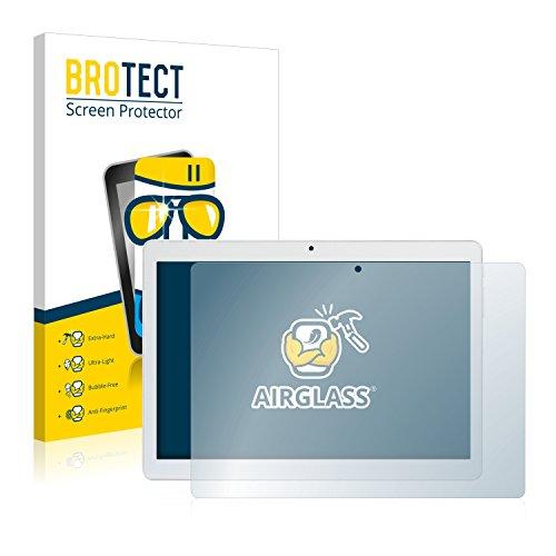 brotect Pellicola Protettiva Vetro Compatibile con Mediacom SmartPad Go 10 M-SP1AGO3G Schermo Protezione, Estrema Durezza 9H, Anti-Impronte, AirGlass