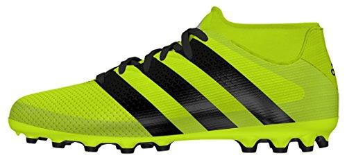 adidas Ace 16.3 Primemesh AG J, Botas de fútbol para Niños, Amarillo (Amasol/Negbas/Plamet), 38 EU