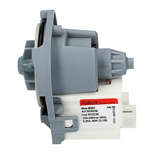 Pumpe Ablaufpumpe Spülmaschine Bauknecht Whirlpool 481236018558 Askoll RC0238