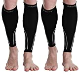 Udaily Calf Compression Sleeves for Men & Women (20-30mmhg) - Calf Support Leg Compression Socks for Shin Splint & Calf...