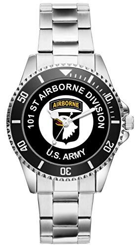 KIESENBERG - Geschenk US Army Veteran Military Soldat 101st Airborne Division Uhr 6500