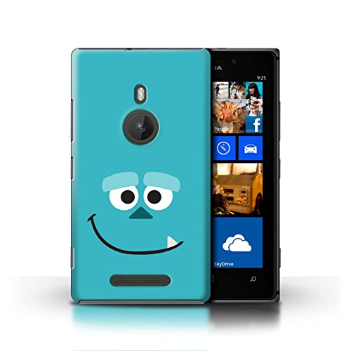 Stuff4 Hülle/Case für Nokia Lumia 925 / Sulley Kunst Inspiriert Muster/Animierte Filmfiguren Kollektion