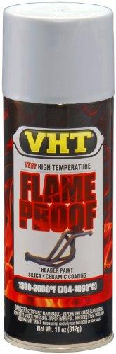 VHT SP117 FlameProof Coating Flat Aluminum Paint Can - 11 oz.