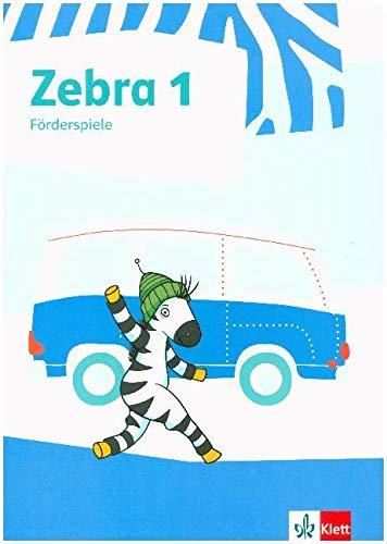 Zebra 1: Zebra 1 / 2. Förderspiele. Anfangsunterricht (Lernmaterialien)