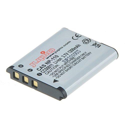 Jupio CCS0011 - Batería para cámara de Fotos Equivalente a Casio NP-110...