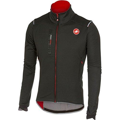 カステリ スポーツ サイクリング トップス Castelli Espresso 4 Jacket Black