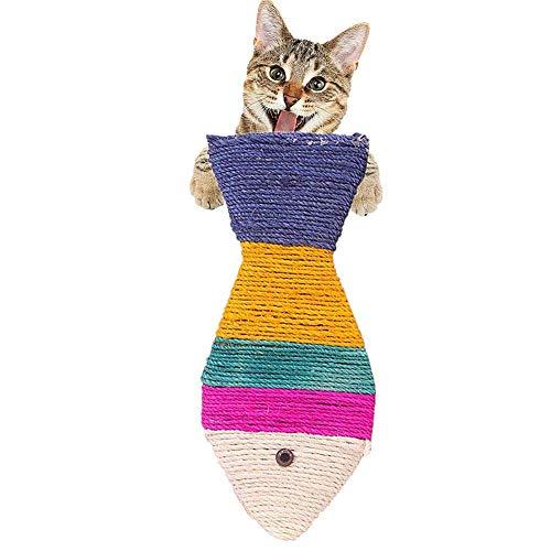 AYCPG Gatos Gato arañar Puestos de cartón Rascar la Junta Gatos Rascadores for Gatos Adultos de rasguño de Gato Gato de rascadores lucar