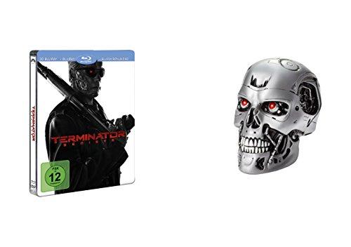 Terminator: Genisys Skull & 3D Steelbook (+Blu-ray) (exklusiv bei Amazon.de) [Limited Edition]