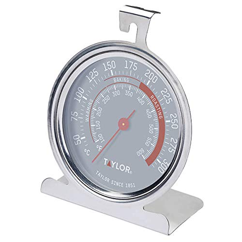 Taylor Pro Oven Thermometer, Stainless Steel, 9 x 8.5 cm