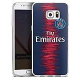 DeinDesign Coque en Silicone Compatible avec Samsung Galaxy S6 Edge Plus Étui Silicone Coque Souple Paris Saint-Germain Produit...