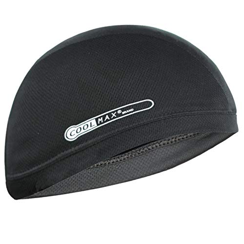 Coolmax Cooling Skull Cap, One Size Fits Most (Black)