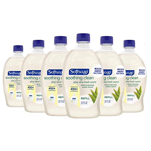 Softsoap Liquid Hand Soap Refill, Soothing Aloe Vera - 56 fluid ounce