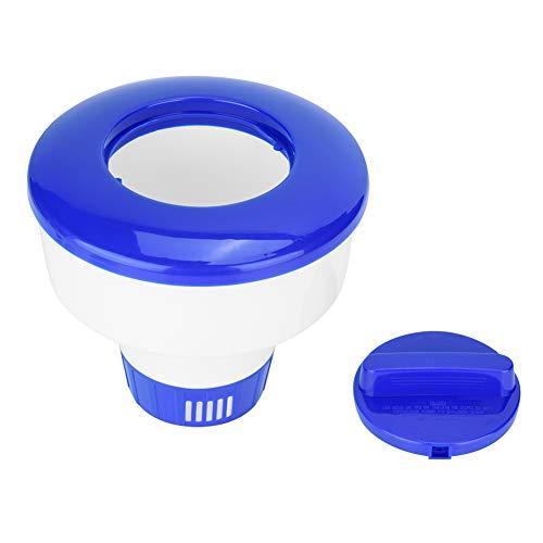 Dosificador Cloro Piscina, Dispensador de productos químicos flotantes, dispensador de cloro para piscina, spa, soporte para bromo