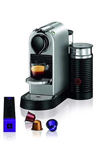 Nespresso XN761B, Macchina per Espresso in Capsule, 1 Tazza, Argento