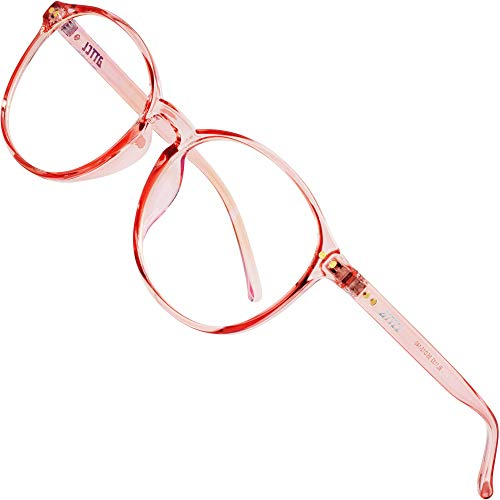 ATTCL Unisex blaulichtfilter brille computerbrille zum Blockieren von UV-Kopfschmerz [Verringerung der Augenbelastung] Gaming Brille 1133-Pink