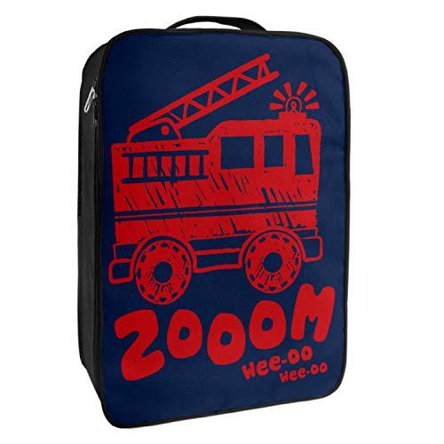 Schuh-Aufbewahrungsbox, für Reisen und den täglichen Gebrauch, rot, tragbar, wasserdicht, bis zu 12 m, mit doppeltem Reißverschluss und 4 Taschen